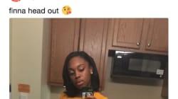 Ilusión óptica: el desconcertante 'selfie' de esta chica que se ha convertido en