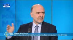 Moscovici met la France en garde: après la bonne surprise du déficit public, il faut éponger la
