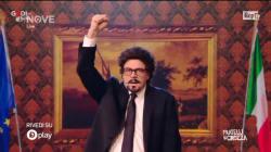 Crozza imita Toninelli: il ministro che esulta per ogni