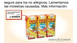 Mercadona retira un producto de leche de soja por contener proteína de
