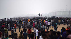 How The Leaderless Jallikattu Protests At Chennai's Marina Beach Came