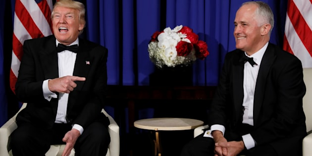 U.S. President Donald Trump and Prime Minister Malcolm Turnbull met for the first time in May in New York after a much-publicised hostile phone conversation in January.