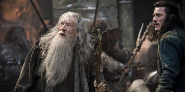 """Ian McKellen dans le rôle de Gandalf dans """"The Hobbit""""."""