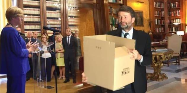 Tempo di saluti e scatoloni, i ministri escono di scena
