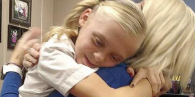 La réaction de cette petite quand elle a appris qu'elle allait être adoptée va vous réchauffer le cœur