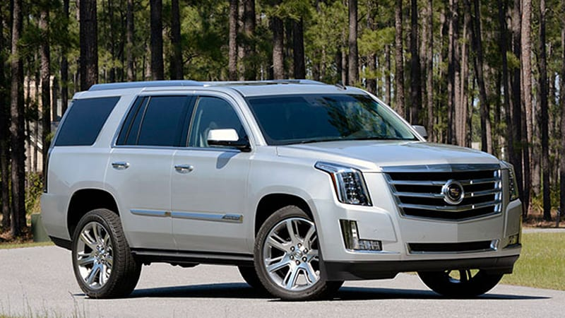 Cadillac Escalade gets $5,000 discount to ward off Lincoln Navigator