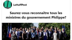 Saurez-vous identifier les ministres du gouvernement Philippe?