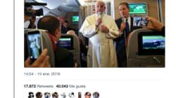 Un tuitero convierte al papa en rapero y enloquece