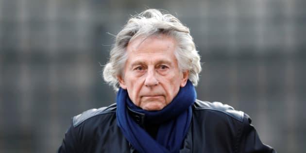 Roman Polanski à Paris le 9 décembre 2017.