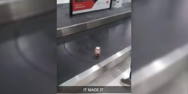 L'homme a fait ça pour faire rire l'un de ses amis.