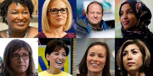Ces huit candidats peuvent réaliser des premières aux élections de mi-mandat aux États-Unis.
