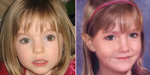 Madeleine went missing on May 3 2007, days before her fourth birthday