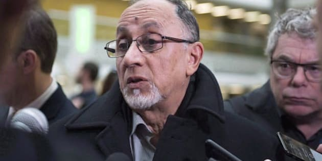 Quebec Islamic Cultural Centre president Boufeldja Benabdallah at the hall of justice in Quebec City on March 28, 2018.