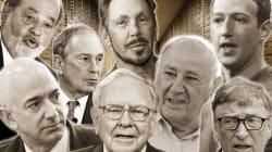 La fortuna de estos 8 hombres es igual a la de la mitad de la población