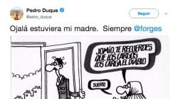 El primer tuit de Pedro Duque tras ser nombrado