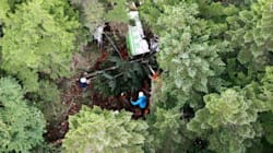 群馬県の防災ヘリ事故、事実と違う飛行計画を県が国に提出
