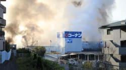 ボタン電池の接触で出火か 吹田のホームセンター火災