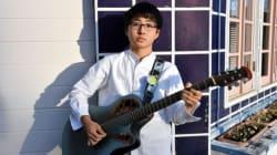 崎山蒼志さんがデビューアルバムを発売。ゲスの極み、くるりが絶賛した高校生歌手