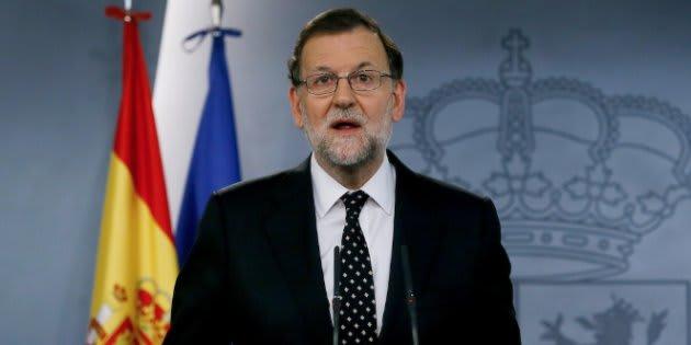El expresidente del Gobierno español Mariano Rajoy.