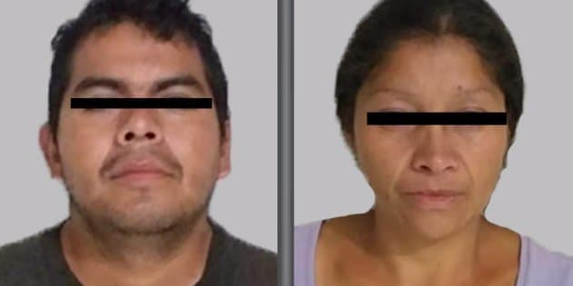 La pareja fue detenida el jueves 5 de octubre por elementos de la FGJ tras una investigación iniciada por el reporte de desaparición de tres mujeres en Ecatepec.