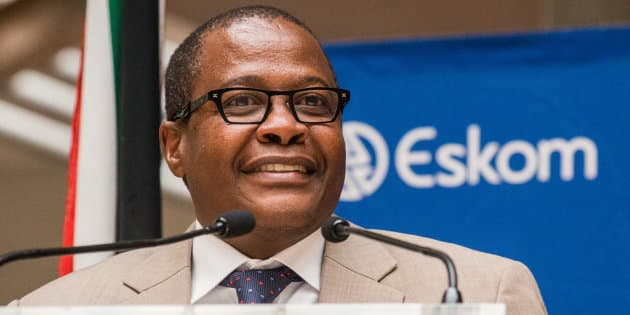 Brian Molefe, the former chief executive officer of Eskom Holdings SOC Ltd.