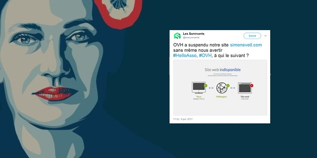 Le site anti-IVG qui instrumentalisait l'image de Simone Veil suspendu