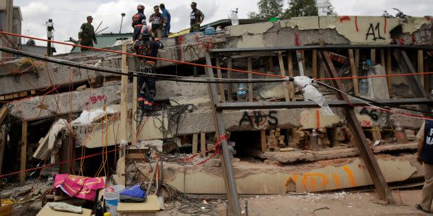 Después de 11 meses de investigación, se aprobó la remoción de escombros del Colegio Rébsamen.