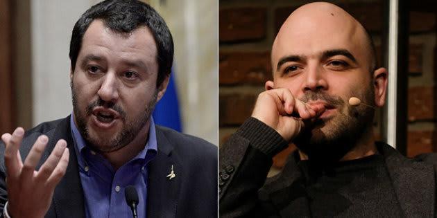 """Roberto Saviano contro Matteo Salvini: """"Quanta eccitazione prova a vedere morire bimbi in mare?"""""""