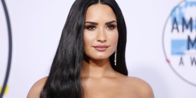 La actriz y cantante Demi Lovato en una entrega de premios durante 2017. REUTERS/Danny Moloshok
