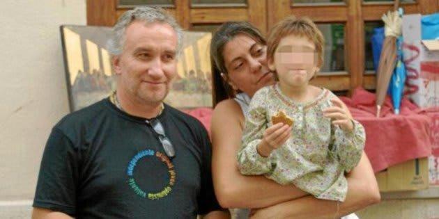 Fernando Blanco y Margarita Garau, con su hija Nadia.