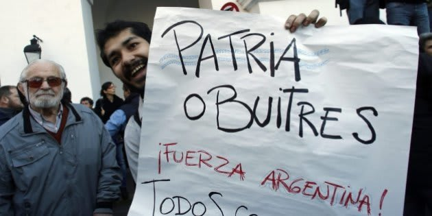 Imagen de archivo de una protesta en Argentina.