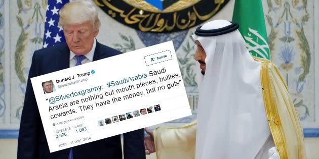 Cet ancien tweet assassin de Trump sur l'Arabie Saoudite lui revient en pleine figure