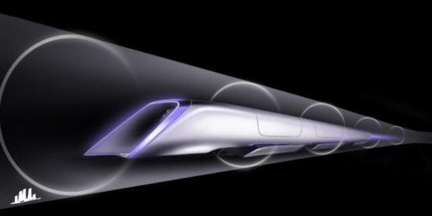 L'Hyperloop, le train du futur, s'installe à Toulouse