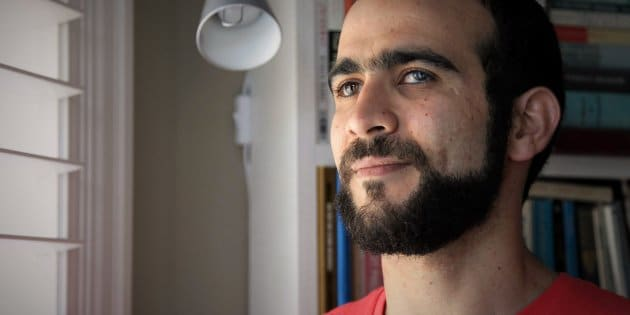 Former Guantanamo Bay prisoner Omar Khadr, 30, is seen at a home in Mississauga, Ont., on July 6, 2017.