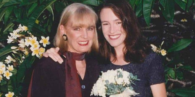 Nikki Gemmell with her mother Elayn.