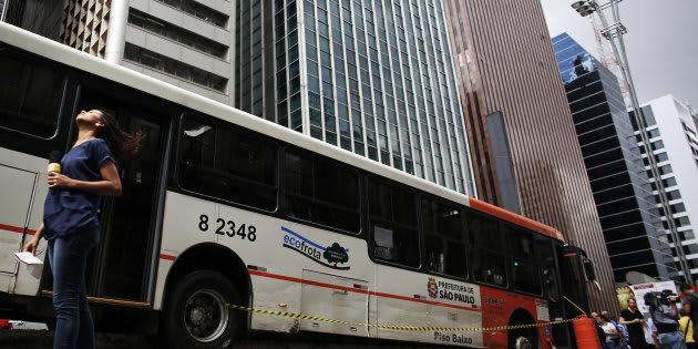 Nesta semana, um homem ejaculou em uma mulher em um ônibus de São Paulo.