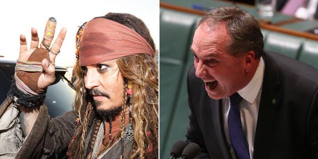 It's Barnaby vs Johnny, again.