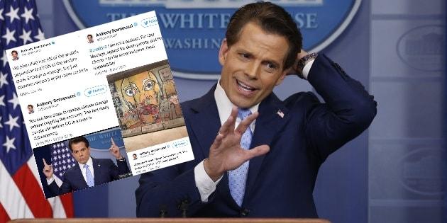 Anthony Scaramucci, à peine nommé directeur de la com' de Trump, efface ses tweets dérangeants... trop tard