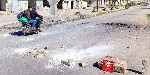 L'attaque au gaz sarin en Syrie, en avril,  perpétrée par le régime d'Assad selon l'ONU