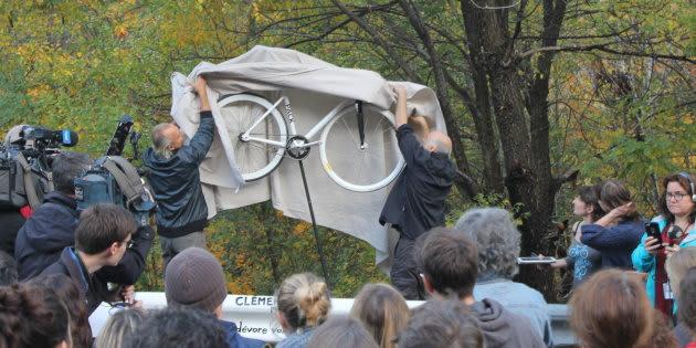 Mort du cycliste Clément Ouimet: le dossier soumis au DPCP
