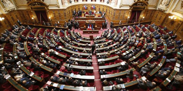 Une vue générale du Sénat (Image d'illustration).