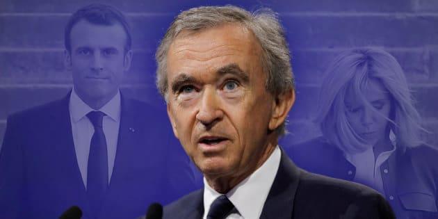 """Bernard Arnault est-il vraiment """"l'ami"""" d'Emmanuel Macron, comme l'a dit Jean-Jacques Bourdin?"""