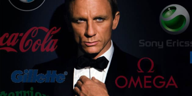 James Bond est le roi du placement de produit.