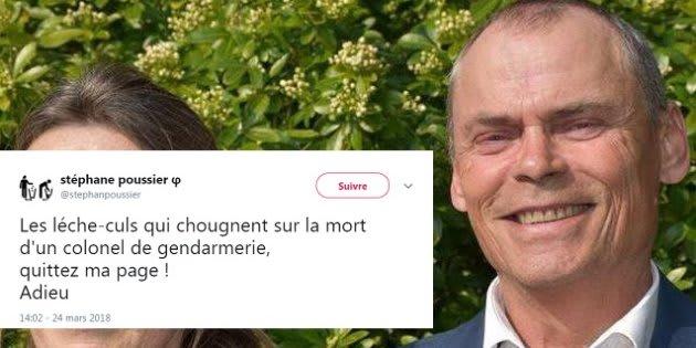 L'ex-candidat Insoumis qui s'était félicité de la mort d'Arnaud Beltrame condamné à un an de prison avec sursis