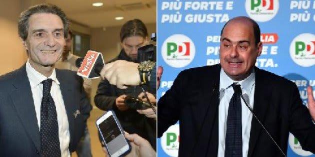 Fontana avanti in Lomabrdia, Zingaretti nel Lazio (exit poll)