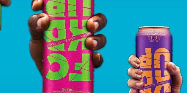 La boisson alcoolisée sucrée FCKD UP se vendait dans un format de 568 ml contient 11,9 pour cent d'alcool pour moins de 4$.