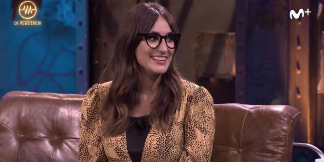 Ana Morgade en 'La Resistencia'.