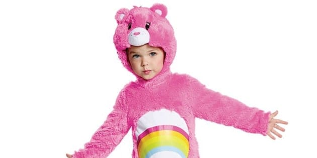 There are plenty of adorable Halloween costumes for kids that don't require crafting skills.