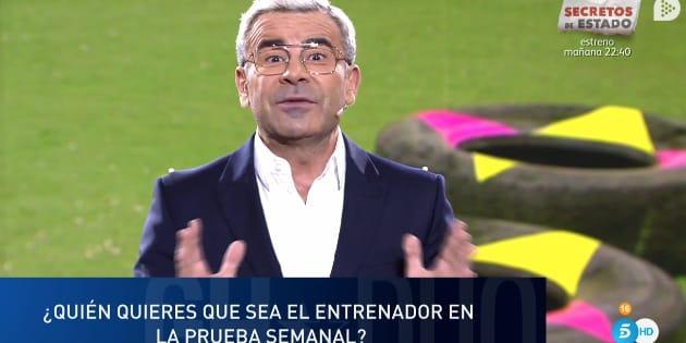 Jorge Javier Vázquez en GH DUO.