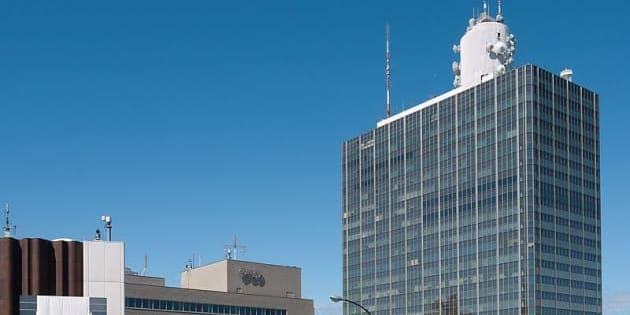 NHK放送センター(東京都渋谷区) Photo by Rs1421